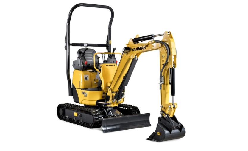 ViO12-2A Mini Excavator (Zero Tail)