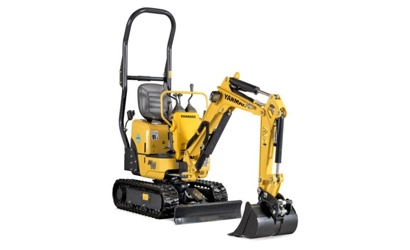 SV08-1C Mini Excavator (Conventional Tail)