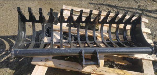 excavator-rake-attachment